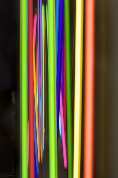 Prospettiva di luci e colori